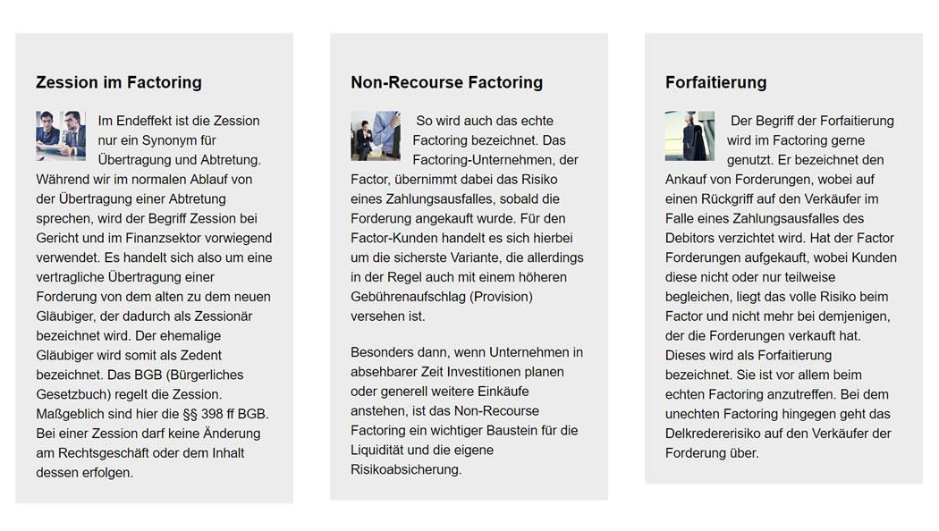 Forfaitierung  Baden-Baden